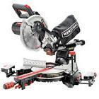 """Craftsman 10"""" Single Bevel Sliding Compound Miter Saw Laser"""