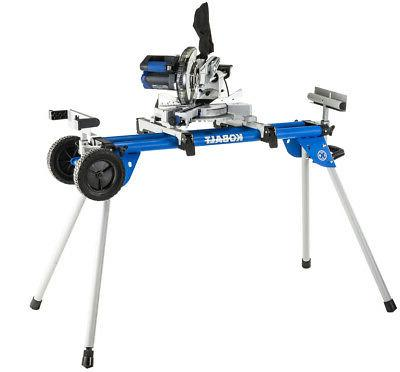 Steel Rolling Saw Stand Universal Heavy-Duty Portable