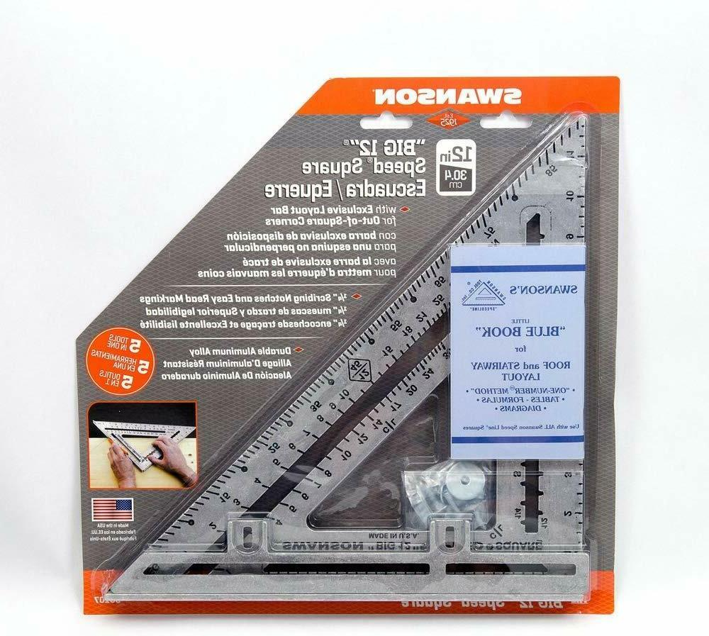 Swanson Inc - S0107 Speed Square Layout Blue