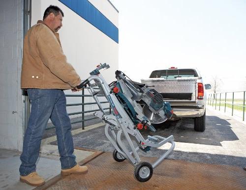 Bosch Portable Gravity-Rise Wheeled Miter