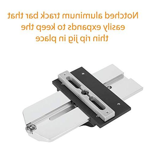 Thin Rip Repetitive Narrow on Table Saw. Also works Tables
