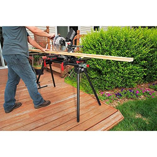 Craftsman Stand. Compact Is to and Store. Two Height-adjustable,weighs Less 25 Pounds,supports Arms Extend 80 Inches.