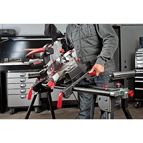 Craftsman Universal Saw Stand. Compact Design Is and Height-adjustable,weighs Less Than 25 up to 330 Pounds,support Arms up 80