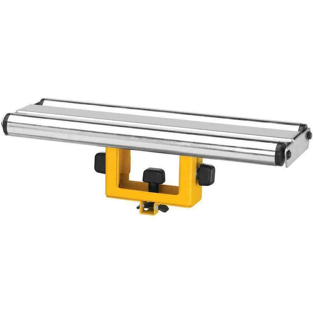wide roller material support | dewalt miter saw new adjustab
