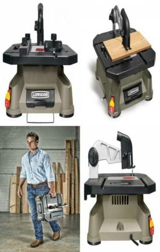 X2 Portable Tabletop Saw with Steel Rip Fence, Miter Gauge,