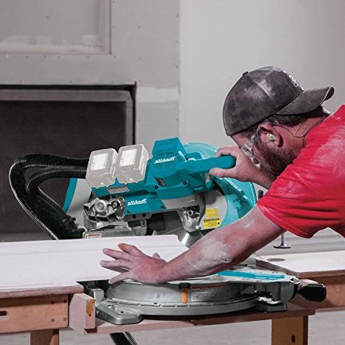"LXT Lithium-Ion Brushless 10"" Miter Saw with & Laser, TOOL"