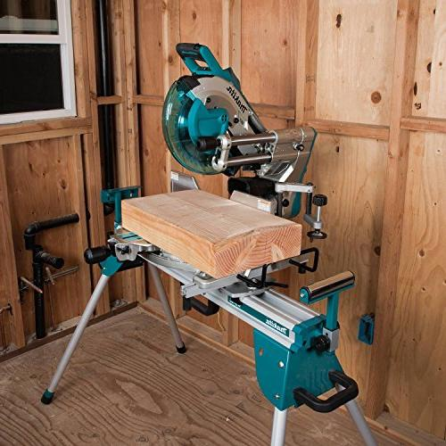"Makita LXT Lithium-Ion Brushless Cordless 10"" Miter Saw with Aws &"