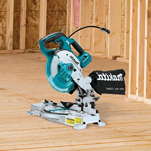 Makita XSL05Z Lithium-Ion COMPACT Dual-Bevel Compound Saw TOOL Only
