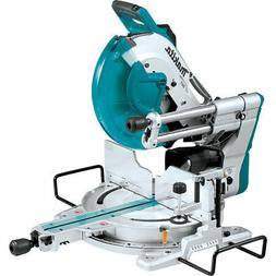 "Makita LS1219L 12"" Dual-Bevel Sliding Compound Miter Saw wit"