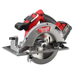 "Milwaukee 2731-21 M18 Fuel 7-1/4"" Circular Saw 1 Bat Kit"