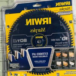 IRWIN Marples 10-in 80-Tooth Carbide Miter/Table Saw Blade 1