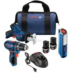 Bosch Power Tools Combo Set - GXL12V-310B22 – 12-Volt 3-To