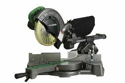 Metabo HPT C8FSE 8-1/2-Inch Sliding Compound Miter Saw, Doub