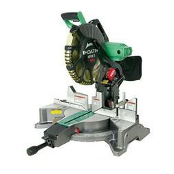 Hitachi C12FDH 15-Amp 12-inch Dual Bevel Miter Saw w/ Laser