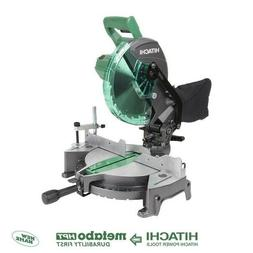 Hitachi Milter Saw 10-in 15-Amp Single Bevel Compound Miter