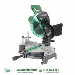 Hitachi C10FCG 10-in 15-Amp Single Bevel Compound Miter Saw