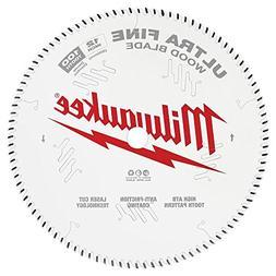 Milwaukee 12 in. x 100-Tooth Ultra Fine Finish Circular Saw