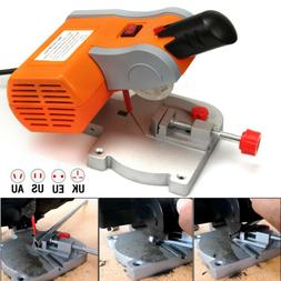 """6000RPM 2"""" Mini Cut-off 0~45° Miter Saw Steel Blade Cutting"""