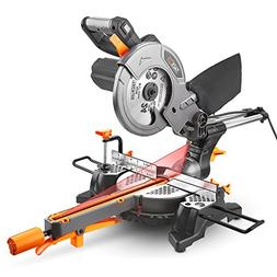 Miter Saw with Laser, TACKLIFE 12.5-Amp 4500RPM 8-1/2'' Sing