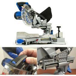 Miter Saw 7-1/4-in. 10 Amp Single Bevel Sliding Laser Compou