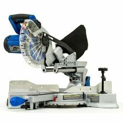 Miter Saw Compact Single Bevel Bevel Sliding Compound 10Amp