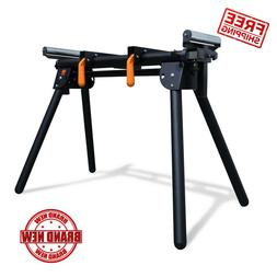 Wen Miter Saw Stand Adjustable Support Sliding Arm 69 in 750