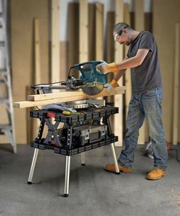 Multi Purpose Workbench Miter Saw Stand Portable Folding Fol