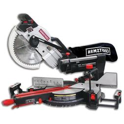 "New Craftsman 10"" Compact Sliding Compound Miter Saw with La"
