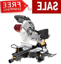 "NEW 10"" Sliding Compound Miter Saw 15 Amp. Motor with Laser"