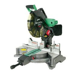 "NEW Hitachi 12"" Dual Bevel Miter Saw with Laser Guide C12FDH"