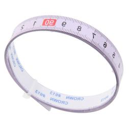 new 1M Self Adhesive Tape Measure, Metric Miter Saw Steel Ru