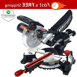*NEW* Craftsman 7 1/4 Inch Laser Trac Sliding Compound Miter