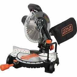 NEW - BLACK+DECKER 15 Amp 10-Inch Compound Miter Saw, M2500B