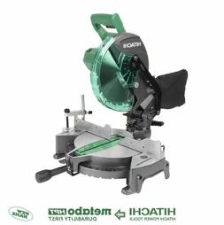 New Hitachi C10FCG 15-Amp 10-in Single Bevel Compound Miter