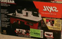NEW Skil Router Table W Folding Leg Tall Fence Quick Clamp A