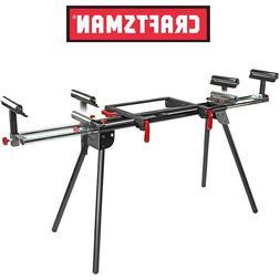 "NEW Craftsman Universal Miter Saw Bench Stand Fits 10"" & 12"""