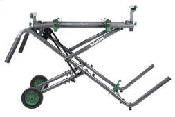 New-Hitachi UU240R Fold and Roll Heavy-Duty Miter Saw Stand