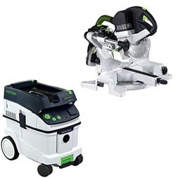 Festool PAC561287 Kapex Sliding Compound Miter Saw with CT 3