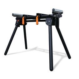Portable Miter Saw Stand Adjustable Tool 750 lb Capacity Sup