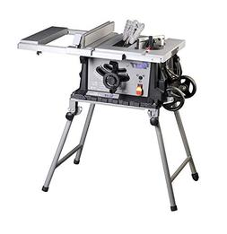 Portable Table Saw,10 Inch Bench Saw,15-Amp Jobsite Electric