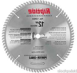 """Porter Cable 12922 12"""" Riptide Miter Saw Blade NEW Chopsaw 8"""