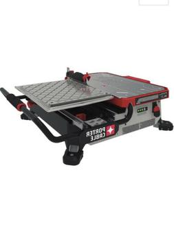"Porter Cable PCC780LA 20V MAX 7"" Sliding Table Top Wet Tile"
