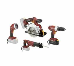 Chicago Electric Power Tools 18 Volt Cordless 4 Tool Combo P