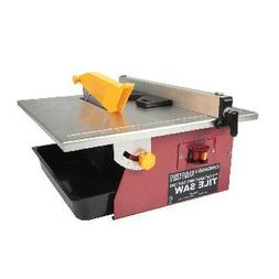 "CHICAGO ELECTRIC Power Tools 7"" Portable Wet Cutting Tile Sa"