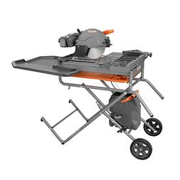 Ridgid R4092 10 in. Wet Tile Saw with Stand