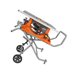 Ridgid R4513 15 Amp 10 in. Heavy-Duty Portable Table Saw wit