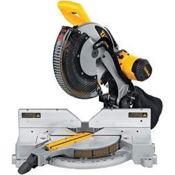 DEWALT DW716R 15 Amp Double-Bevel Compound Miter Saw