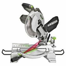 10 Inch 15 Amp Compound Miter Saw With Laser