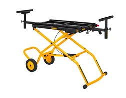 Dewalt Rolling Miter Saw Stand Rubber Wheels Adjustable Fold