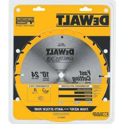 "Dewalt Rotary Saw Blade 7 1/4""  24 Tooth Carbide Framing DW3"
